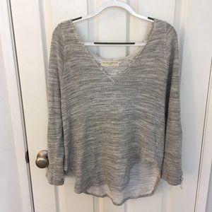 gray sweater hoodie